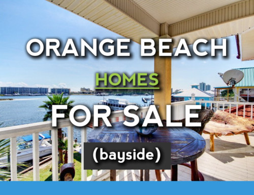 Orange Beach Bay Front homes for sale