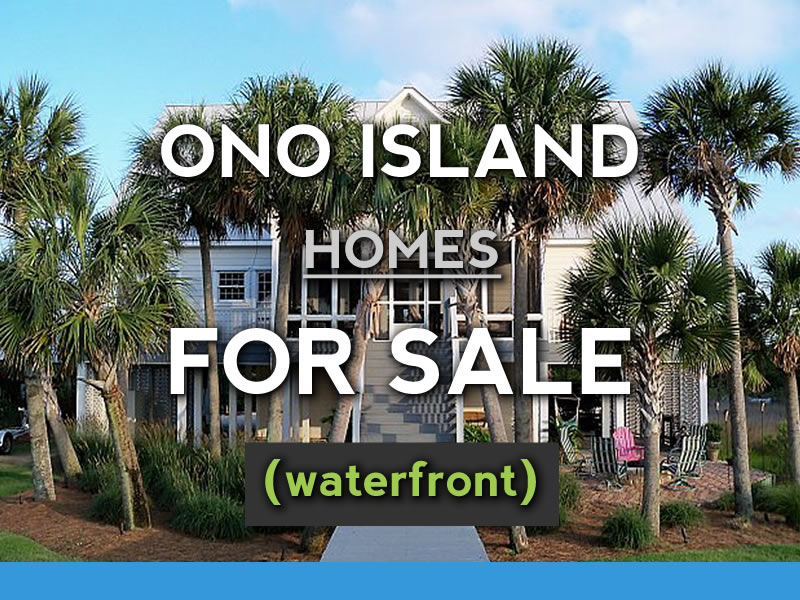 Ono Island Waterfront For Sale