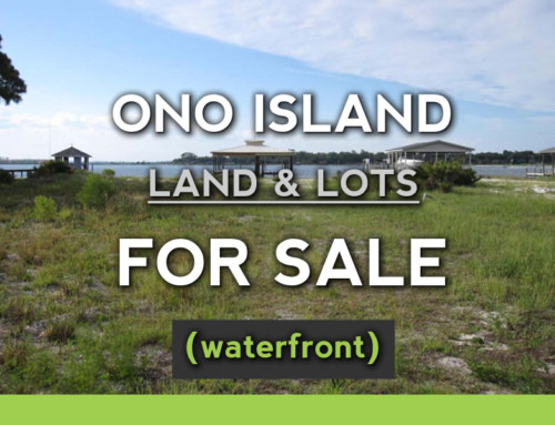 Ono Island Waterfront Lots For Sale