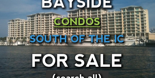 Orange Beach Bayside Condos for Sale - south of the IC