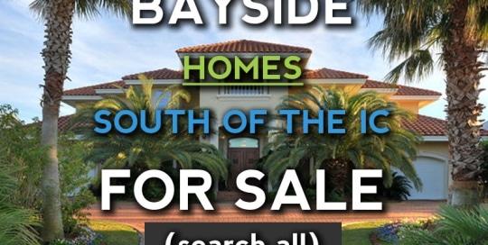 Orange Beach Bayside Homes South of the Intracoastal