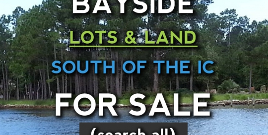 Orange Beach land for sale south of the ic