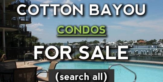 Orange Beach Condos for Sale on Cotton Bayou