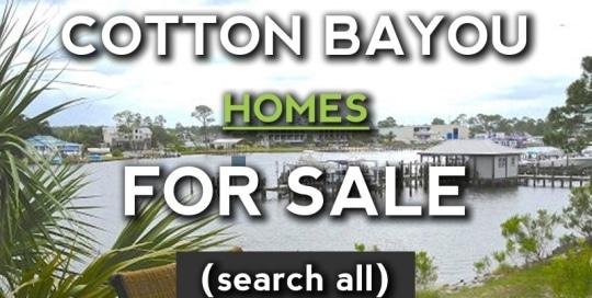 Orange Beach Homes for Sale on Cotton Bayou