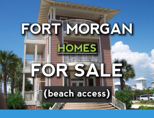 Fort Morgan Beach Access Homes For Sale
