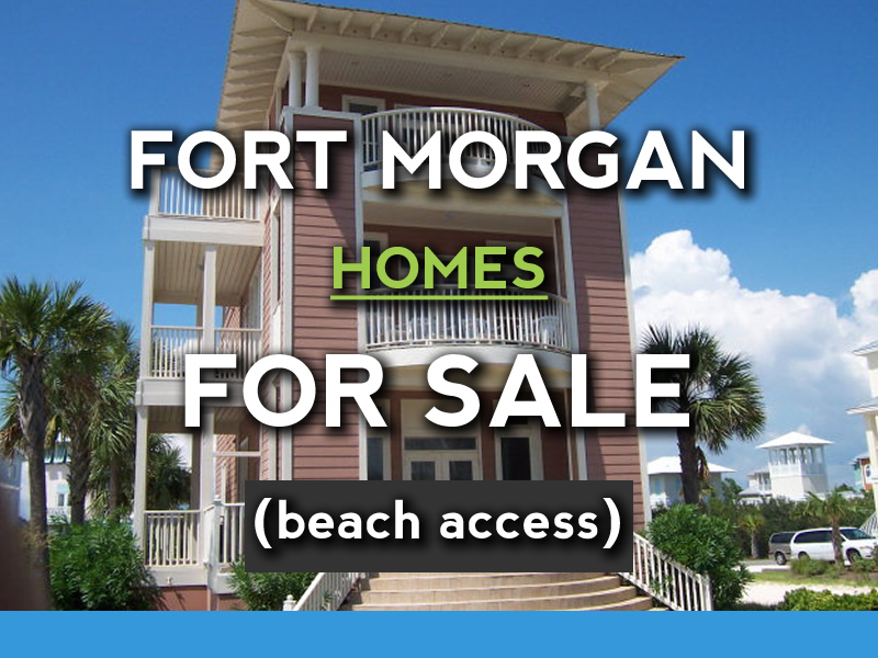 Fort Morgan Alabama Beach Homes For Sale